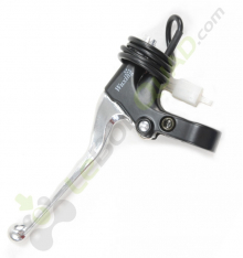 Levier de frein gauche + cocotte de pocket cross électrique E-Mico