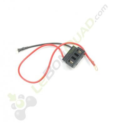Prise connexion boite à batterie de pocket cross électrique - Quad enfant