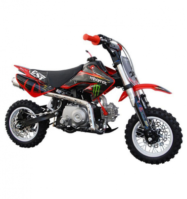 dirt bike gunshot 50 monster energy moto cross 50cc. Black Bedroom Furniture Sets. Home Design Ideas