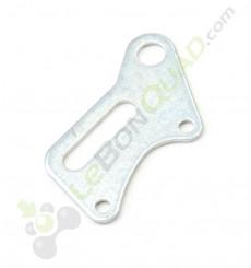 Platine support étrier frein arrière de pocket cross