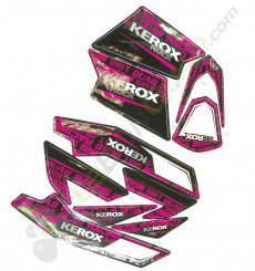 Kit décoration KEROX ROCK ROSE de pocket quad