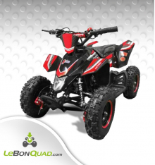 Quad pocket LBQ Wokx 49cc BW6 ROUGE