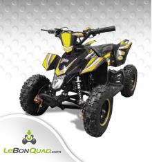 Quad pocket LBQ Wokx 49cc BW6 JAUNE