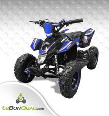 Quad pocket LBQ Wokx 49cc BW6 BLEU