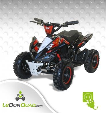Quad pocket électrique LBQ E-Speedy BW6 ROUGE - Quad enfant