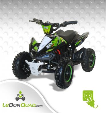 Quad pocket électrique LBQ E-Speedy BW6 VERT - Quad enfant