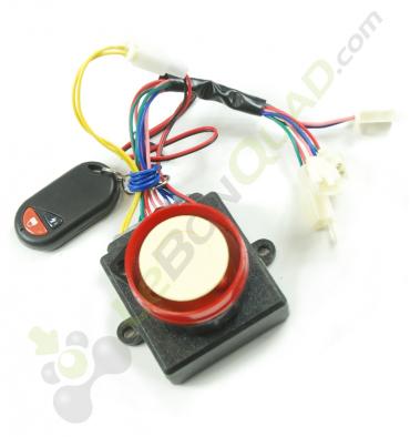 Boitier de coupure à distance émetteur + récepteur de Quad E-MKT - Quad enfant