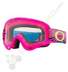Masque enfant OAKLEY XS O Frame MX ROSE