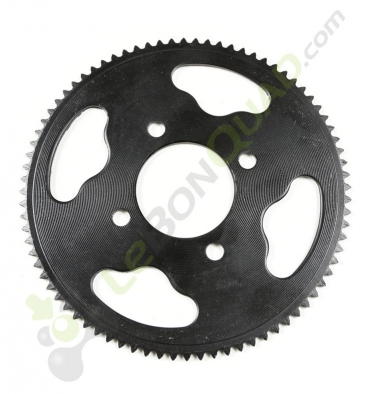 Couronne de transmission axe 48mm 25H 80 dents de Quad E-MKT - Quad enfant