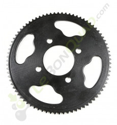 Couronne de transmission axe 48mm 25H 80 dents de Quad E-MKT