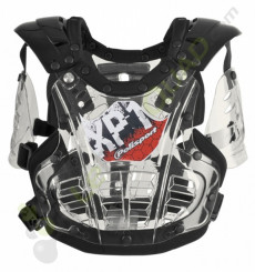 Plastron enfant POLISPORT XP1 TRANSPARENT