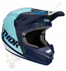 Casque enfant THOR Sector taille YL BLEU