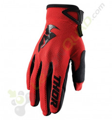 Gants enfant THOR Sector taille YXS ROUGE