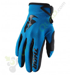 Gants THOR Sector taille M BLEU