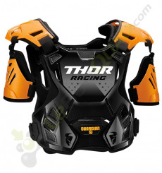 Plastron enfant THOR Guardian taille 2XS/XS ORANGE