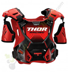 Plastron THOR Guardian taille XL/2XL ROUGE