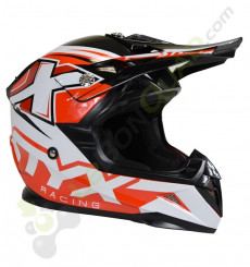 Casque enfant STYX RACING taille YL ROUGE