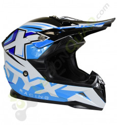 Casque enfant STYX RACING taille YL BLEU