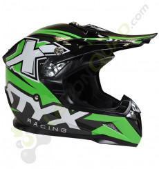 Casque enfant STYX RACING taille YL VERT