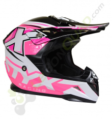 Casque STYX RACING taille S ROSE
