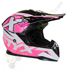 Casque enfant STYX RACING taille YL ROSE