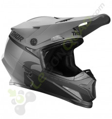 Casque THOR Sector Racer taille L GRIS