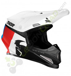 Casque THOR Sector Racer taille S BLANC