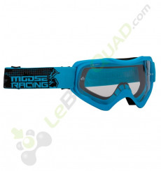 Masque enfant MOOSE Qualifier Slash BLEU
