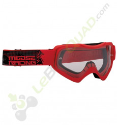 Masque enfant MOOSE Qualifier Slash ROUGE