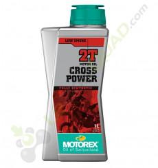 Huile moteur MOTOREX CROSS POWER 2T 1 Litre