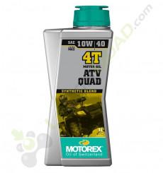 Huile moteur MOTOREX QUAD ATV 10W40 4T 1 Litre