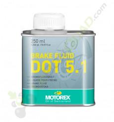 Liquide de frein DOT 5.1 MOTOREX 250ml