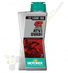 Huile moteur MOTOREX QUAD ATV RACING 10W50 4T 1 Litre