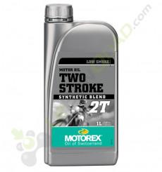 Huile moteur MOTOREX 2T 1 Litre