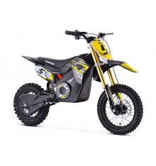 Pit Bike électrique KEROX E-STORM JAUNE