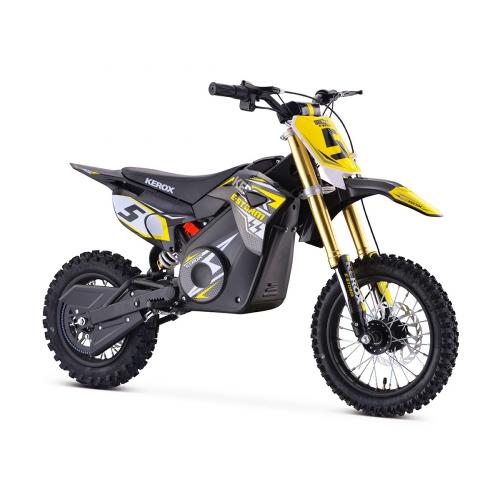 Pit Bike électrique KEROX E-STORM JAUNE - Quad enfant