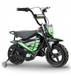 Moto électrique 250W enfant KEROX E-Fat kids VERT