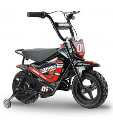 Moto électrique 250W enfant KEROX E-Fat kids ROUGE