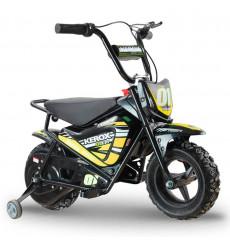 Moto électrique 250W enfant KEROX E-Fat kids JAUNE