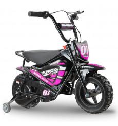 Moto électrique 250W enfant KEROX E-Fat kids ROSE