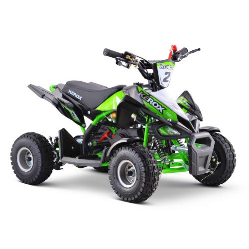 Pocket Quad 50cc enfant KEROX Rex VERT - Quad enfant