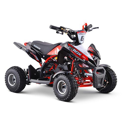 Pocket Quad 50cc enfant KEROX Rex ROUGE - Quad enfant