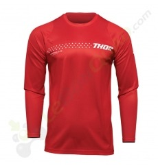 Maillot enfant THOR SECTOR MINIMAL RED taille YXS
