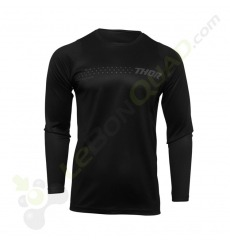 Maillot THOR SECTOR MINIMAL BLACK taille S