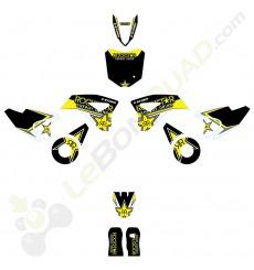 Kit décoration de moto electrique pour enfant KEROX E-STORM Rockstar