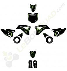 Kit décoration de moto electrique pour enfant KEROX E-STORM Monster