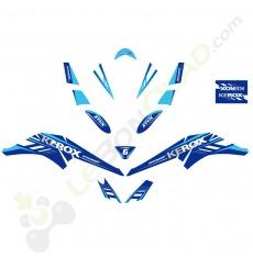 Kit décoration de Quad Speedbird BLEU