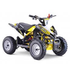 Pocket Quad 50cc enfant KEROX Rex BW6 JAUNE
