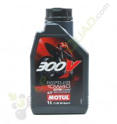 Huile moteur MOTUL 300V 10W40 4T 1 Litre