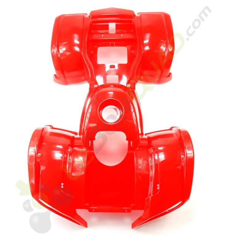Kit plastique de Quad Bazooka ROUGE